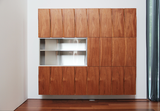 Media Cabinet, design by Allied Works Architecture