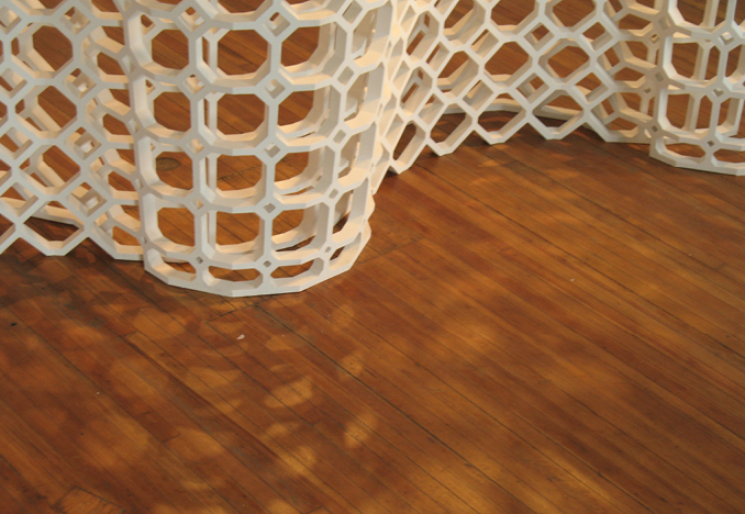 Weave screen, Image courtesy of Fiyel Levent Atelier</br>