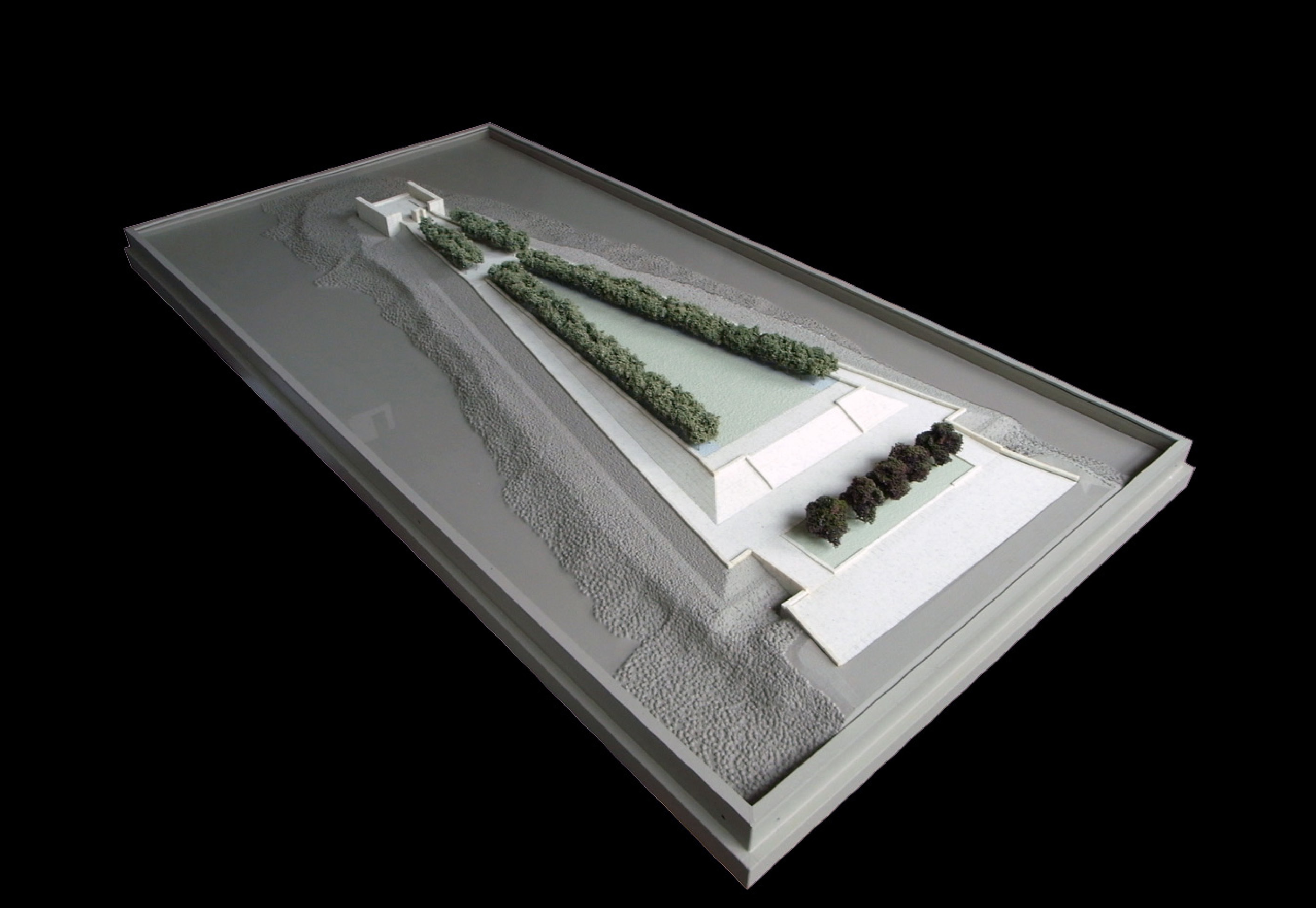 Presentation model of Four Freedoms Park